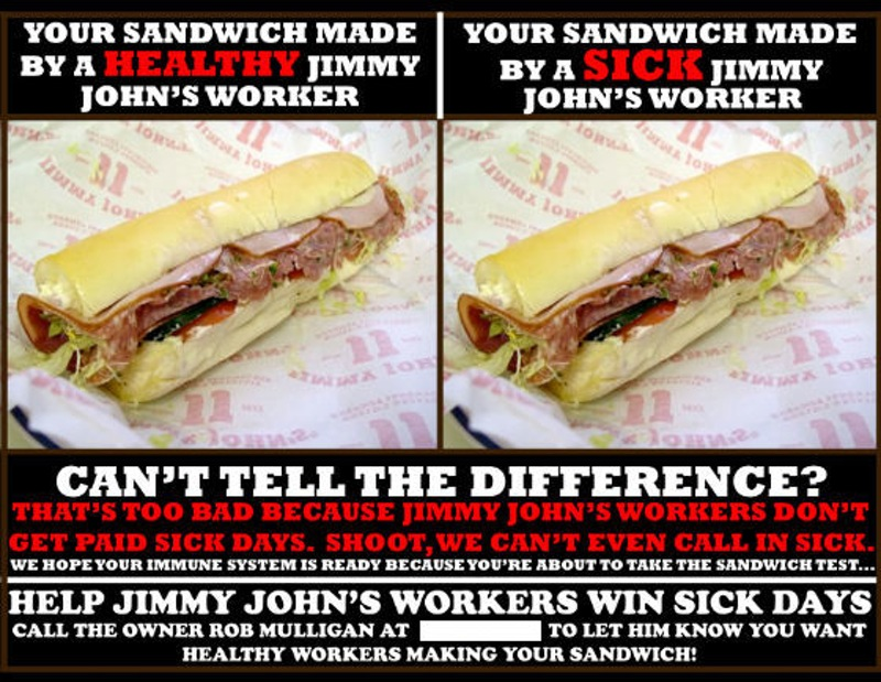 Jimmy Johns poster