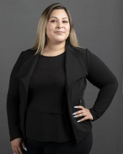 Legal Intake Clerk Evelyn Campos